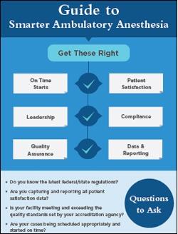 Guide to Smarter Ambulatory Anesthesia